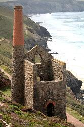 Tin mine near St Agnes