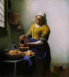 Vermeer 'The Milkmaid'