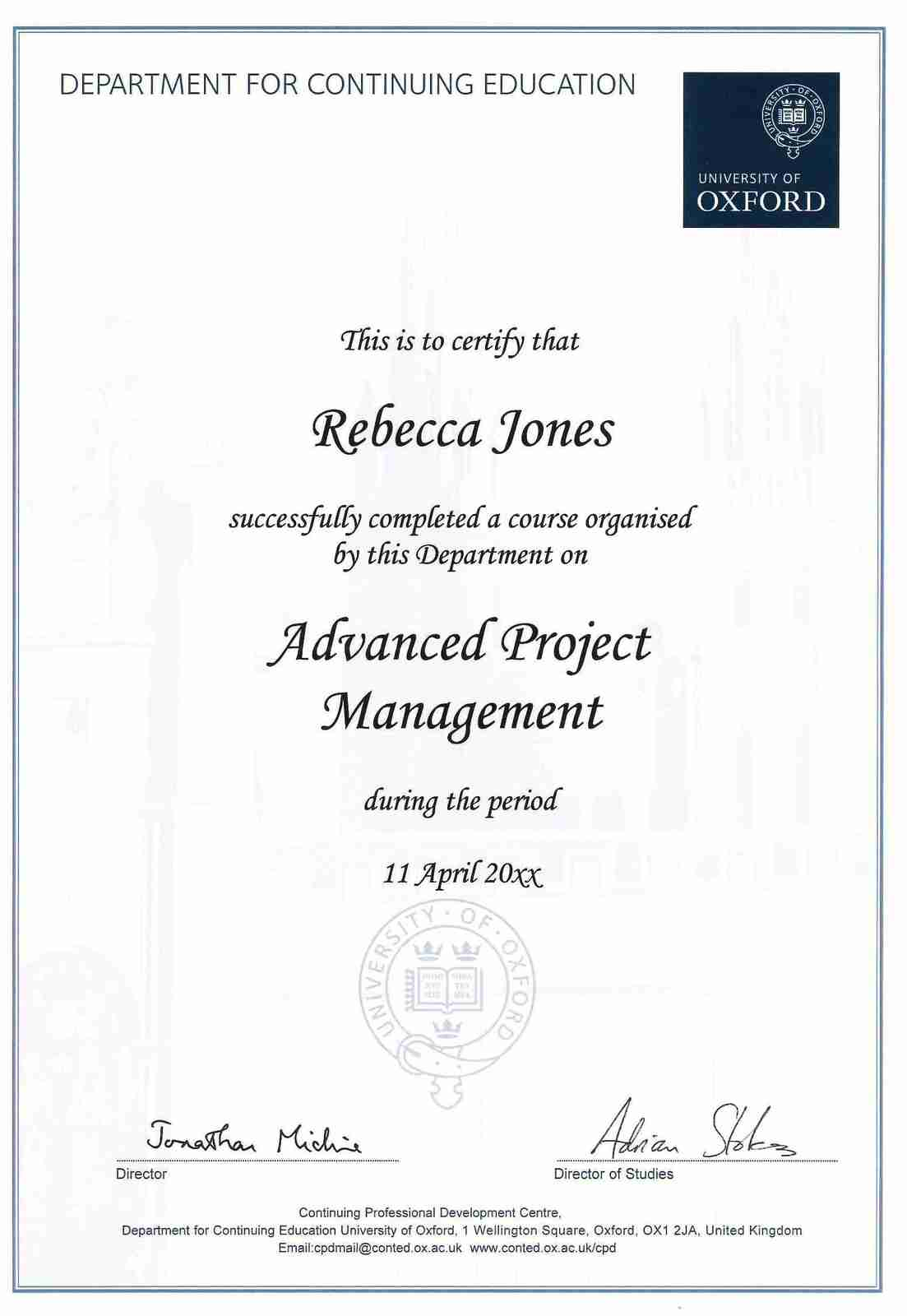 advance project management Advanced project management solves the project management knowledge gap existing among those responsible for managing projects within different.