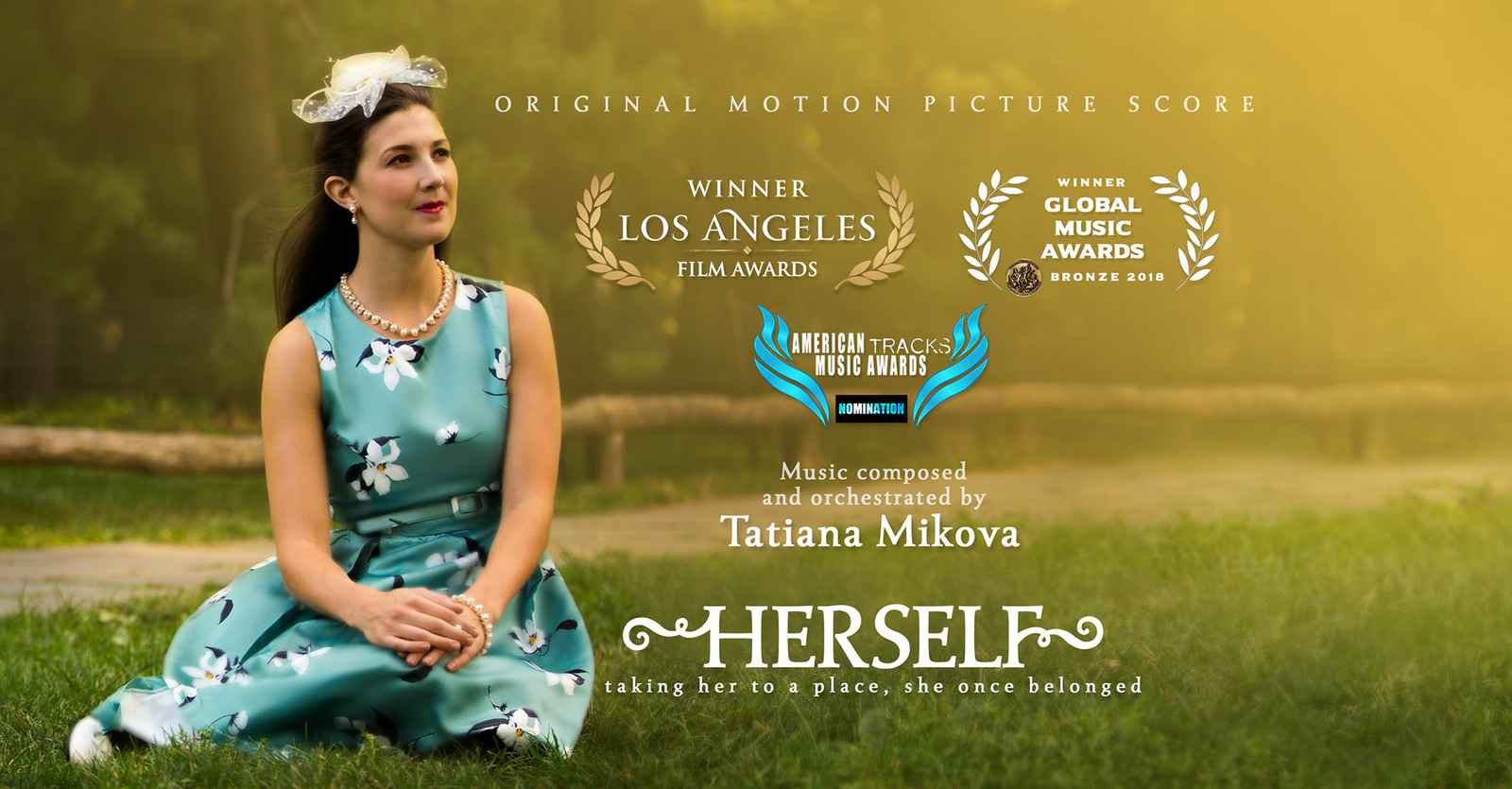 Tatiana Mikova won the Los Angeles Film Award for her score for the film 'Herself'.